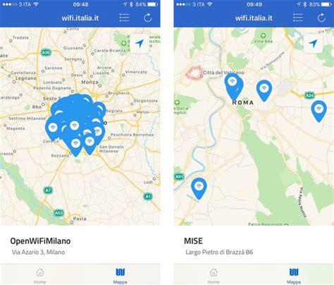 wifi uffici pubblici wifi italia al via navigare gratis con lo stesso account