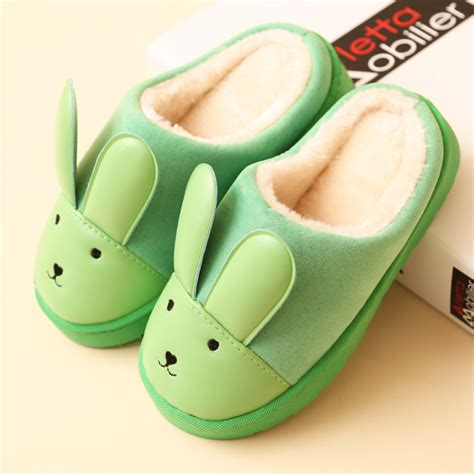 cute bedroom shoes warm winter lovers ciabatte indoor bedroom slippers home