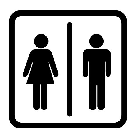 Toilet Sign toilet sign the observation deck