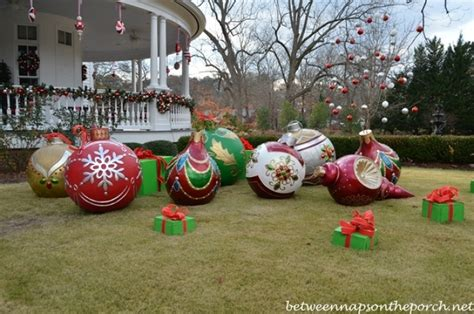 diy outdoor lawn christmas decorations designcorner