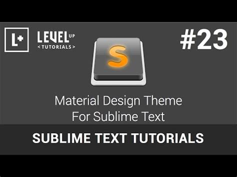 material theme for sublime text 3 materialup material theme for sublime text 3 materialup