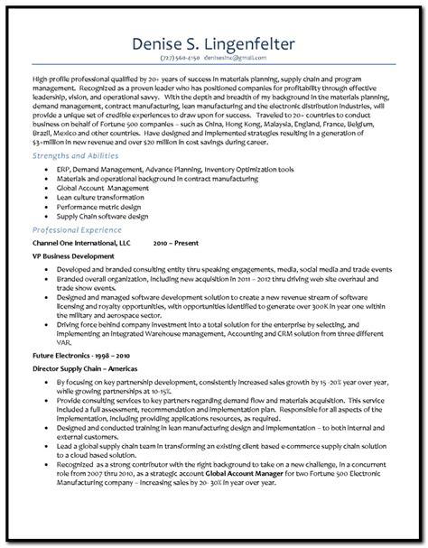 demand planner cover letter sle cover letter resume