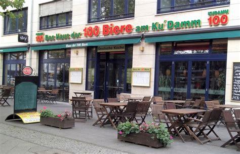 haus der 100 biere berlin potsdamer platz das haus der 100 biere deutsche k 252 che in berlin halensee