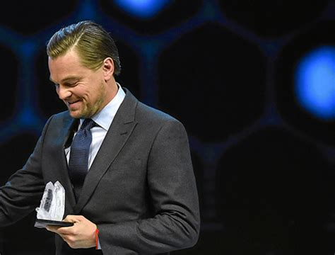 leonardo dicaprio biography awards leonardo addresses the world economic forum in davos