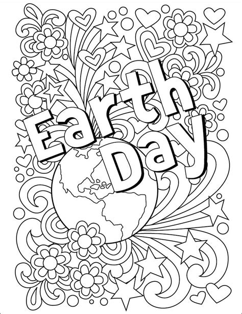 earth day coloring pages for toddlers earth day coloring page free download to celebrate the