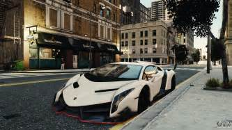 Gta 4 Cheats For Ps3 Lamborghini Lamborghini Veneno For Gta 4