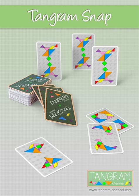 snap card templates 17 best images about tangram on eggs shapes
