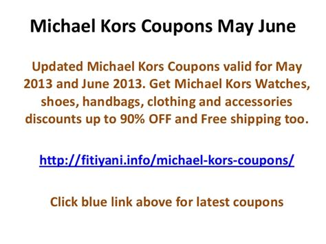 michael kors outlet printable coupons 2012 michael kors coupons car interior design