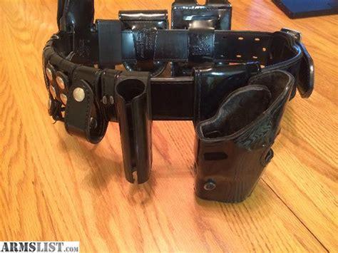 armslist for sale safariland duty belt glock