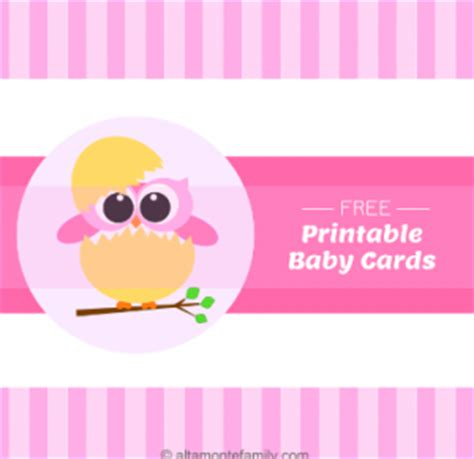 Free Baby Gift Cards - printable gift card for baby shower baby shower favors