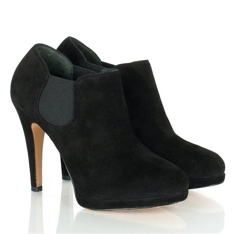 boot and shoe daniel black s heeled shoe boot
