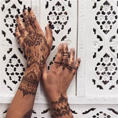 36 perfect mehndi tattoo designs by veronica krasovska