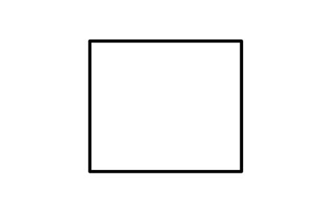 Outlined Box by White Box With Black Outline Clipart Best