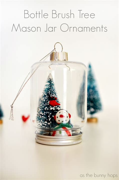 25 mason jar christmas ornaments yesterday on tuesday