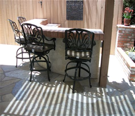 Outdoor Bar Top Finish by Outdoor Living