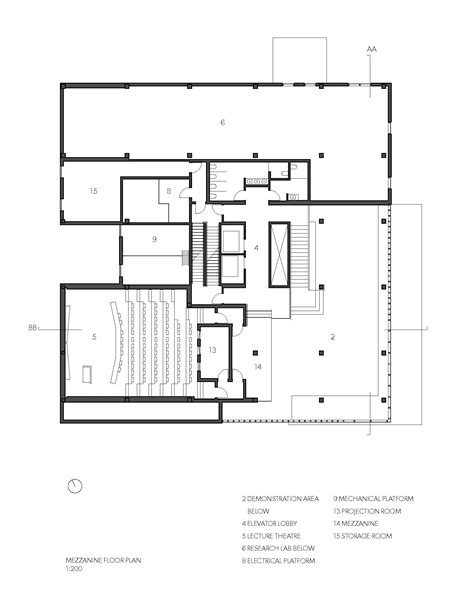 Architecture Floor Plans Gallery Of Wood Innovation Design Centre Michael Green