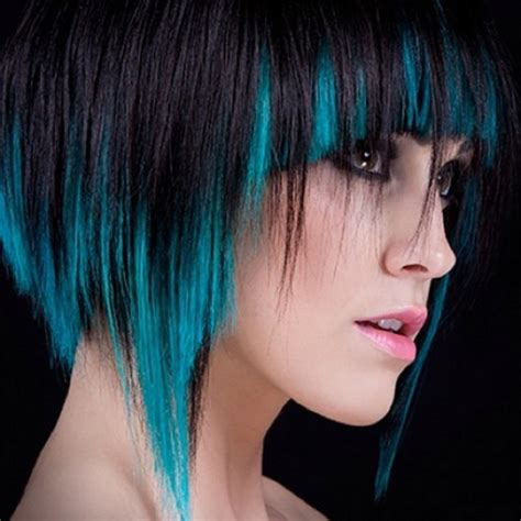 hairstyles to hide dip dyed ends blue dip dye bob hair lust worthy hair styles
