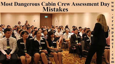cabin crew open day cabin crew assessment day mistakes flight attendant