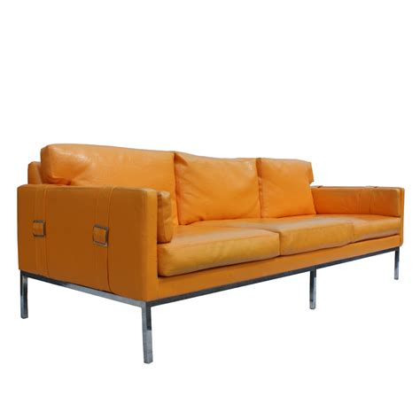 milo baughman couch midcentury retro style modern architectural vintage
