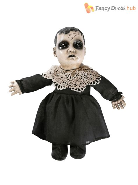 haunted doll prop scary talking haunted doll prop sound activated