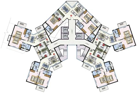 high rise floor plan high rise residential floor plan google search apartment pinterest