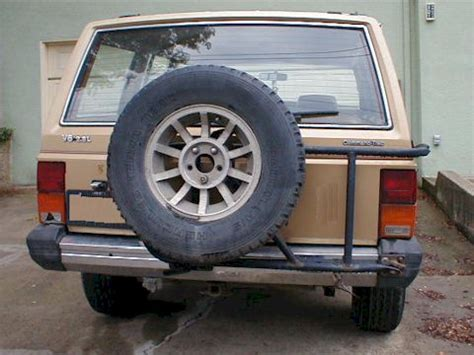 Jeep Xj Spare Tire Carrier Factory Spare Tire Carrier Jeep Forum