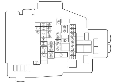 2009 mazda 6 fuse box diagram mazda 3 fuse panel wiring