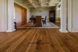 Farmhouse Floors by Character Oak Plank Floor Farmhouse Hardwood Flooring