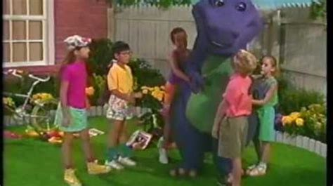 barney and the backyard gang barney goes to school video barney the backyard gang three wishes 1989