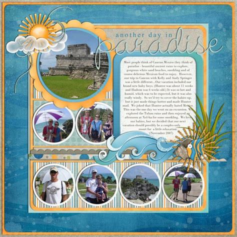scrapbook layout ideas for relationships scrapbooking ideas for mexico stays couples scrapbook
