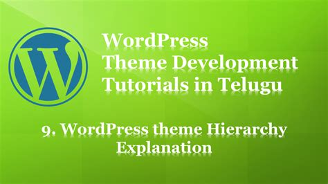 wordpress tutorial in telugu fine wordpress theme development tutorial for beginners