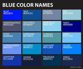 names for the color blue list of colors with color names graf1x