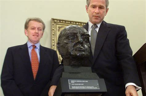 trump reinstalls churchill bust obama removed trump likely to move britain to the front of the queue