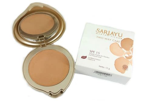Harga Sariayu Two Way Cake Spf 15 review sariayu two way cake yukcoba in