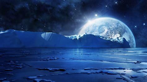 hd wallpapers free high definition desktop backgrounds nightfall mountain sea moon wallpaper hd desktop
