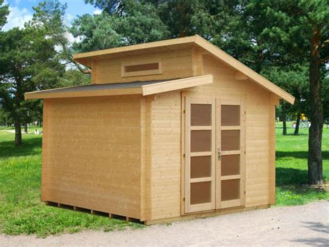 solid nordic spruce wood shed kit