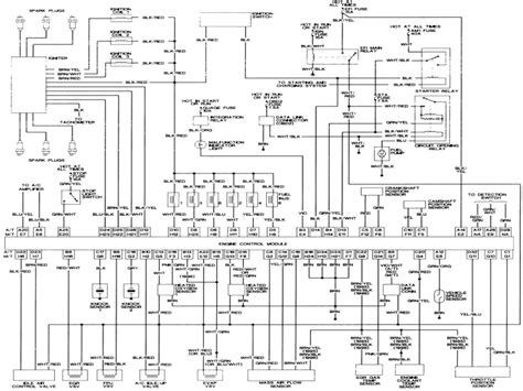 1997 toyota tacoma electrical wiring diagram wiring forums