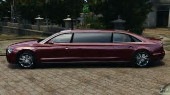 Limousine Audi Audi A8 Limo V1 2 For Gta 4