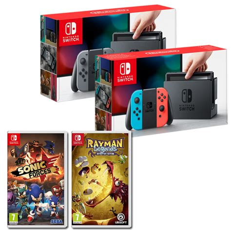 Nintendo Switch Sonic Forces Standard Edition pack nintendo switch sonic forces rayman chocobonplan