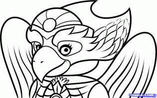 chima coloring pages how to draw eris legends of chima step by step