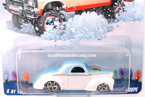 Hot Wheels Guide - Custom '41 Willys Coupe W Car Logo Name