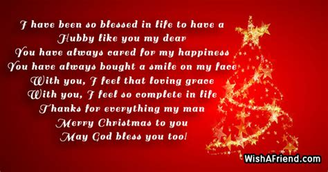 blessed  christmas message  husband