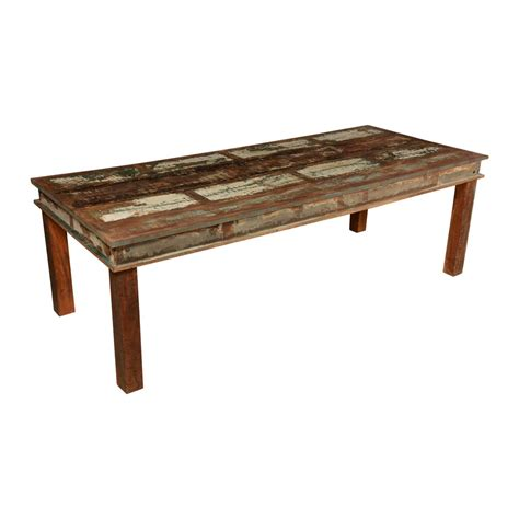distressed wood dining room table appalachian distressed reclaimed wood 96 rustic dining table