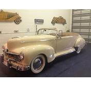 1946 Hudson Super Six Convertible V8 FORD