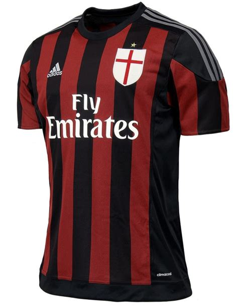 Jersey Inter Milan Home Sleeves 2015 2016 new ac milan home jersey 2015 2016 goalkeeper kit 2015 16 by adidas football kit news new