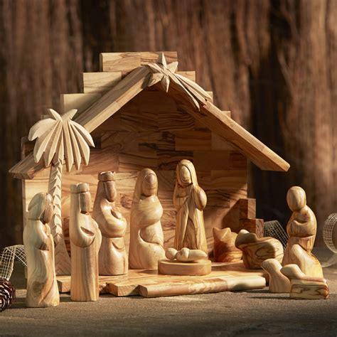 nativity sets image gallery olive wood nativity