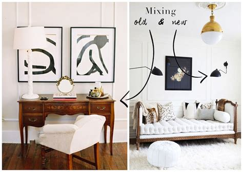 how to mix and new furniture mixing antique contemporary decor pieces