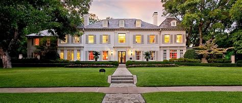 Three Story House Plans 1924 french inspired mansion in highland park tx homes