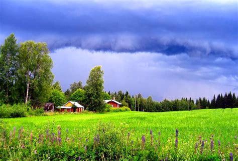 Landscape Photos At World Visits Finland Landscape Summer And Winter