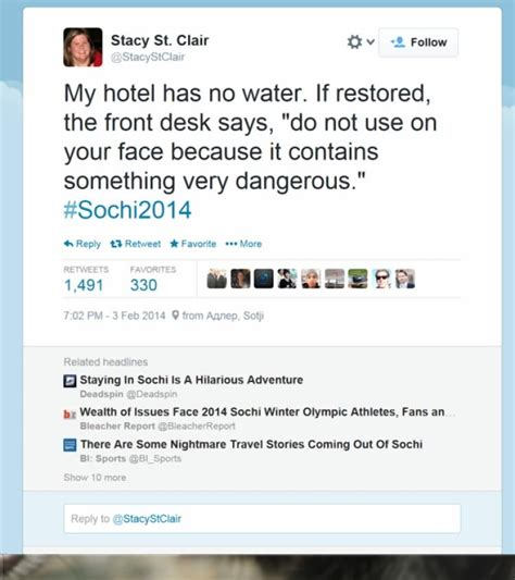 media reports sochiproblems at olympic ny daily news